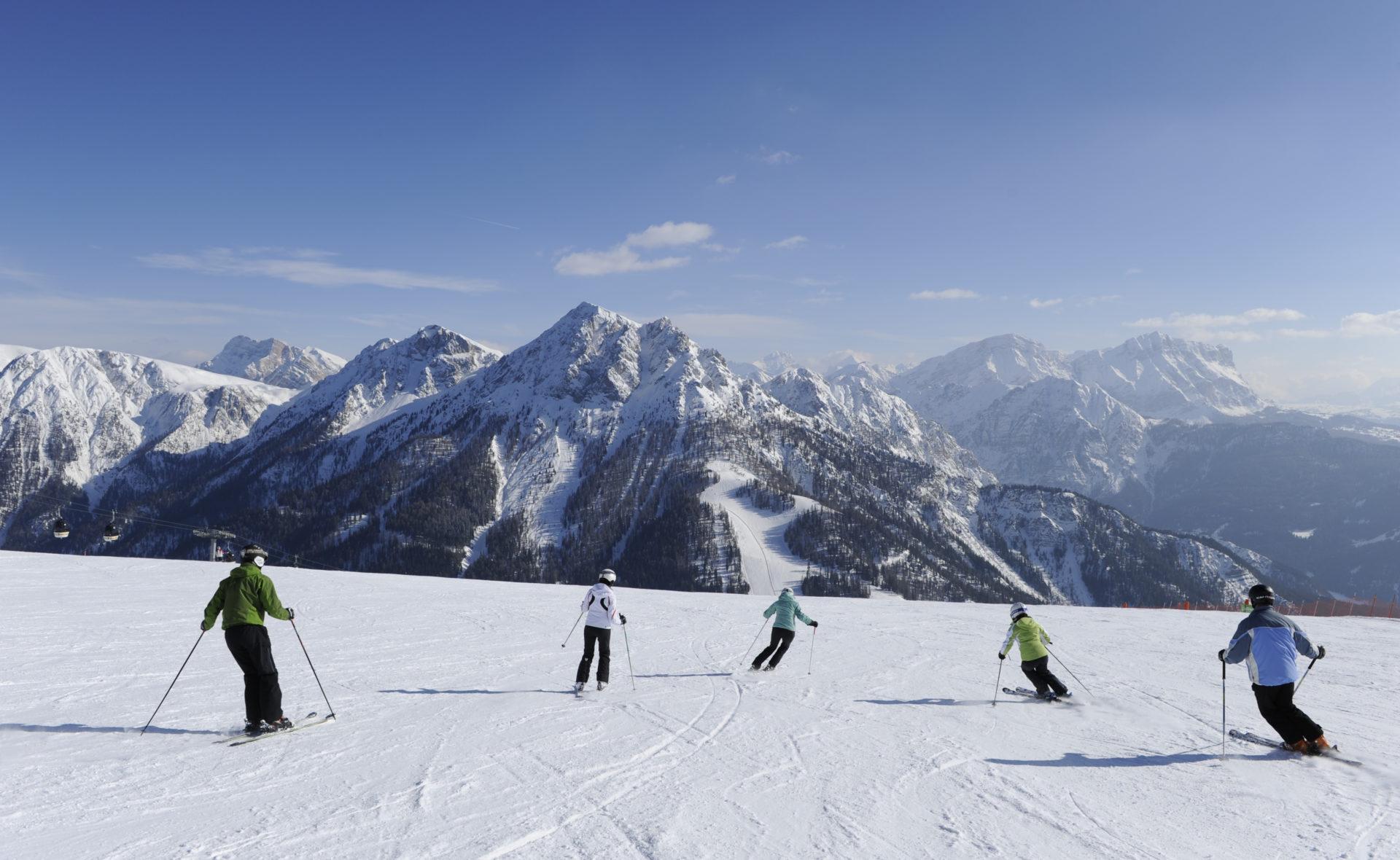 Kronplatz Skifahren 12